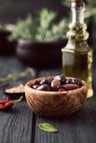 Mediterranean ingredients Stock Photos