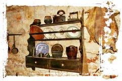 Mediterranean interior Stock Images