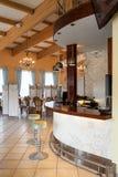 Mediterranean interior - bar Royalty Free Stock Photography