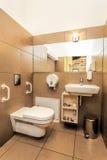 Mediterranean interior - bathroom Stock Image