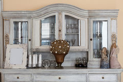 Mediterranean interior - classy shelf Stock Photos
