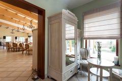 Mediterranean interior - elegant apartment Royalty Free Stock Image