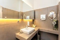 Mediterranean interior - rest room Stock Images