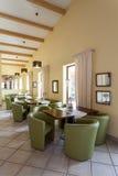 Mediterranean interior - waiting room Royalty Free Stock Image