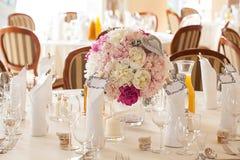 Mediterranean interior - wedding sets Stock Images