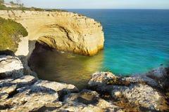 Mediterranean Island Coastal Landscape stock image