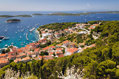 Mediterranean islands. Shot in isle of Hvar, Croatia Royalty Free Stock Photography