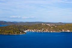 Mediterranean landscape Royalty Free Stock Photos