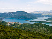 Mediterranean landscape royalty free stock images