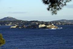 Mediterranean landscape in Bandol, France Royalty Free Stock Images