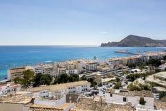 Mediterranean landscape of Costa Blanca Stock Photography