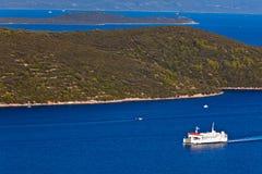Mediterranean landscape - island Royalty Free Stock Photos