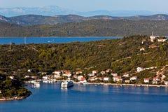 Mediterranean landscape - island Royalty Free Stock Images