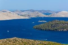 Mediterranean landscape - island Dugi otok Royalty Free Stock Image
