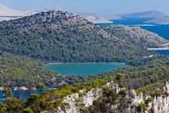 Mediterranean landscape - island Dugi otok Stock Photo
