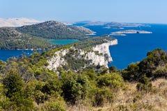 Mediterranean landscape - island Dugi otok Royalty Free Stock Photos