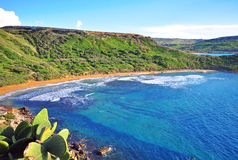 Mediterranean landscape. In Maltese islands Royalty Free Stock Photography