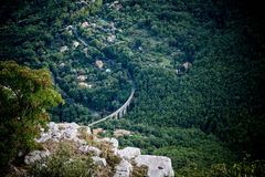 Mediterranean landscape Stock Photos