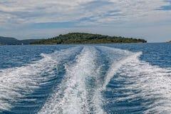 Mediterranean landscape - Prvic island Stock Photography