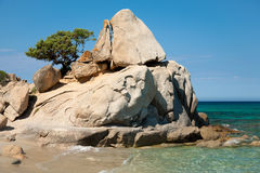 Mediterranean landscape in summer Royalty Free Stock Images