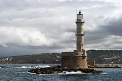 Mediterranean lighthouse Royalty Free Stock Photo