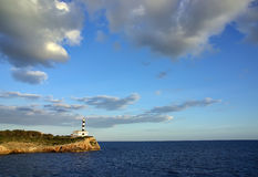 Mediterranean Lighthouse Royalty Free Stock Images