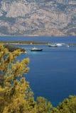 Mediterranean line in turkey Royalty Free Stock Photography