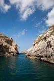 Mediterranean little cove Stock Photography