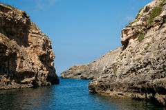 Mediterranean little cove Royalty Free Stock Image