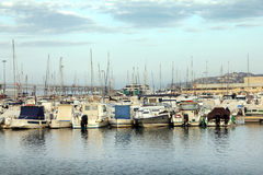 Mediterranean Marina Royalty Free Stock Images
