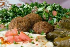 Mediterranean mezze plate Stock Image