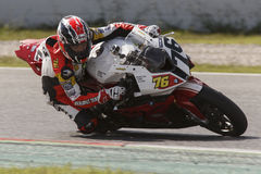 Mediterranean Motorcycling Championship Stock Photos