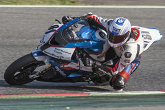 Mediterranean Motorcycling Championship Stock Photo