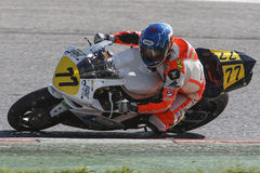 Mediterranean Motorcycling Championship Stock Images