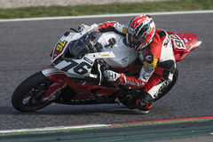 Mediterranean Motorcycling Championship Royalty Free Stock Images