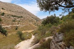 Mediterranean mountain landscape Royalty Free Stock Photos