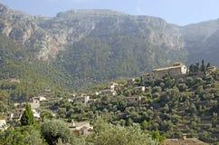 Mediterranean mountain village Royalty Free Stock Image
