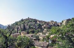 Mediterranean mountain village Stock Photography