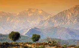 Mediterranean mountains Stock Photos