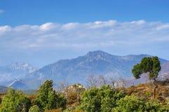 Mediterranean mountains Royalty Free Stock Image