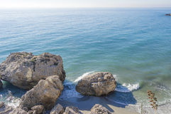 Mediterranean ocean Stock Image