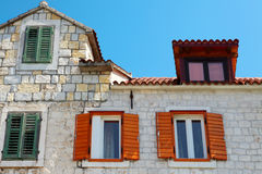 Mediterranean old house Stock Photography