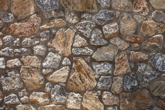 Mediterranean old rock wall background. Medieval design template or hisrtory art Royalty Free Stock Photo