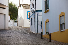 Mediterranean old town street Royalty Free Stock Images
