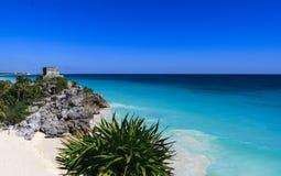 Mediterranean panorama in Ibiza, Balearic islands. Stock Photos
