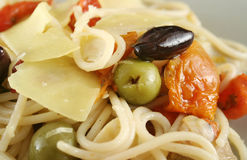 Mediterranean Pasta 3 Stock Photography