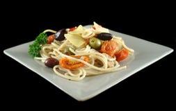 Mediterranean Pasta 4 Stock Photography
