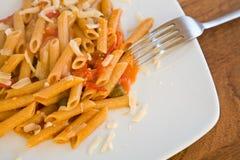 Mediterranean pasta royalty free stock photos