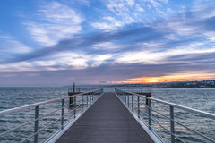 Mediterranean Pier Stock Images