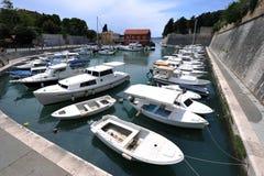 Mediterranean port Royalty Free Stock Images